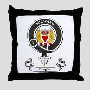 Badge-Douglas [Dumfries] Throw Pillow